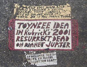 it's a toynbee tile