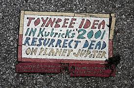 yup you got it a toynbee tile yay